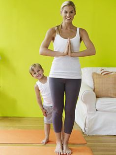 Yoga with kids - poses for Better Behaviour, these can be part of bedtime routine, very calming.