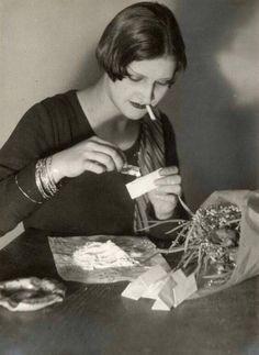 Cocaine user in Weimar Germany, 1932