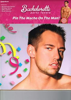 Hens night game idea. Pin the penis on the hunk!