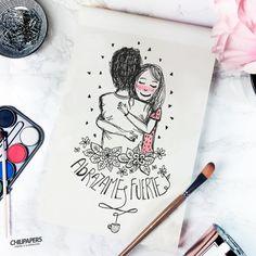 Abracemos porque si, porque pinta un buen abrazo fuerte. =) ChiliPapers by Dani Marseglia https://www.facebook.com/chilipapersarg