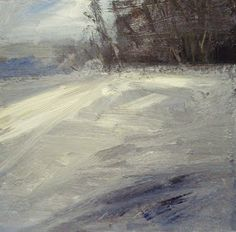 My new paintings: Missing the snow