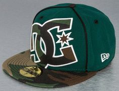 Converage II Predator Fitted Cap By DC SHOES
