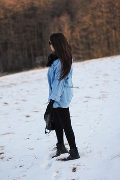 Denim coat outfit style fashion jeans płaszcz blue
