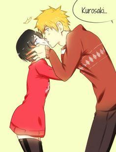 Ichiruki kiss.