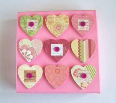 tableau St. Valentin déco