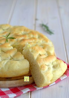 Scd Recipes, Bread Recipes, Cooking Recipes, Focaccia Pizza, Pizza House, Sicilian Recipes, Sicilian Food, Food C, Baked Donuts