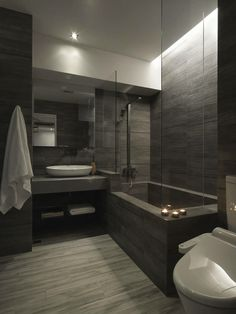 ✔ 65 bathroom design ideas with modern bathtub 33 Related - . - ✔ 65 bathroom design ideas with modern bathtub 33 Related – - Modern Bathrooms Interior, Bathroom Design Luxury, Dream Bathrooms, Beautiful Bathrooms, Master Bathrooms, Master Baths, Bath Design, Master Master, Modern Luxury Bathroom
