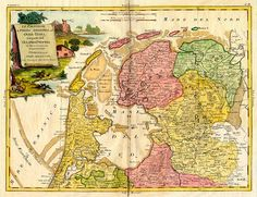 Friesland 1778 Old Maps, Antique Maps, European History, Art History, Early World Maps, Holland Map, Hellenistic Period, Classical Antiquity, Archaeological Finds