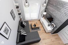 APARTAMENT Z ANTRESOLAMI - Salon, styl nowoczesny - zdjęcie od HOUSE DESIGN - homebook