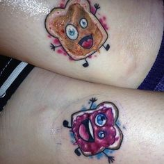 Here are some matching tattoo ideas for sisters. Do you love your sister? Are you both fond of tattoos? Bad Tattoos, Funny Tattoos, Body Art Tattoos, Small Tattoos, Tatoos, Future Tattoos, Worst Tattoos, Girly Tattoos, Time Tattoos