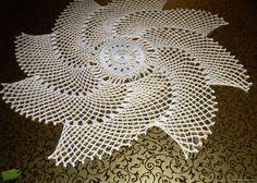 toalhinha de crochet