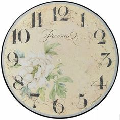 VK is the largest European social network with more than 100 million active users. Clock Craft, Diy Clock, Decoupage Vintage, Shabby Vintage, Decoupage Ideas, Retro Vintage, Laura Ashley, Clock Printable, Grandfather Clock
