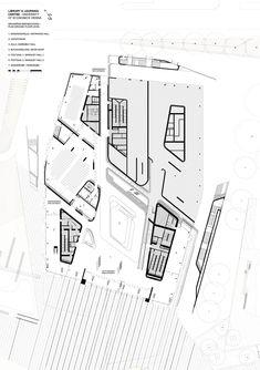 Zaha Hadid Architecture, World Architecture Festival, Landscape Architecture Drawing, Museum Architecture, Architecture Graphics, Futuristic Architecture, Concept Architecture, Hospital Architecture, Library Architecture