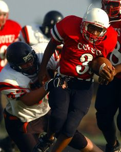 Tackling scott!   scott dobbins | ... Scott Dobbins (73) at McNeil Field Thursday evening during their