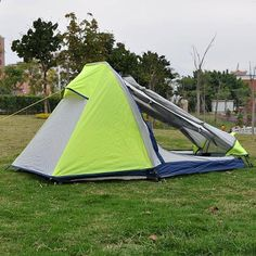 lightweight outdoor camping tent Single Aluminum Pole Double layer pro – Hespirides Gifts