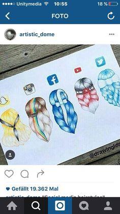 Social media hair #socute