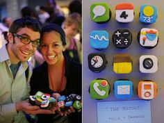 iphone cupcakes!!! need to try this...