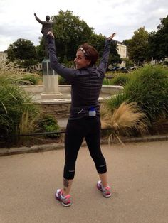 Simple Hydration fan Nicole recently moved to the UK and took this photo in Imperial Square in Cheltenham. She is in training for the Cheltenham Half in a couple weeks. Have a great race Nicole!