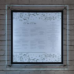 Illuminated displays / Wall mounted poster display case Wall Display Case, Poster Display, Illuminated Signs, Bright Walls, Wall Mount, Frame, Picture Frame, Wall Mounted Display Case, Wall Installation