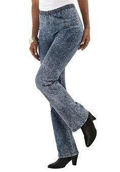 Fashion Bug Women's Plus Size Bootcut Leggings www.fashionbug.us ...