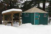 Yurt at Mew Lake Campground Algonquin Park, Lets Run Away, Summer Camps For Kids, Camping, Bike Trails, Staycation, The Great Outdoors, Trip Planning, Places To Visit