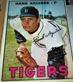 2015 Topps Series 2 Original Buybacks 1967 Hank Aguire #263 Detroit Tigers  #DetroitTigers