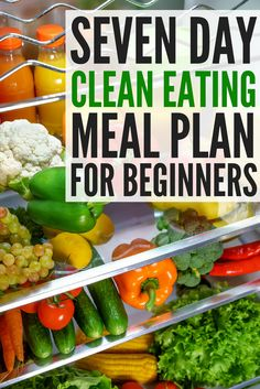 Meal Planning for Clean Eating: Detox Challenge! 7 days of clean eating recipes for weight loss right at your fingertips! We're sharing our favorite meal prep recipes for beginners to help you create a detox challenge you can stick to. Clean Eating Recipes For Weight Loss, Clean Eating For Beginners, Clean Eating Meal Plan, Clean Recipes, Whole Food Recipes, Clean Foods, Clean Earing Recipes, Meal Prep For The Week For Beginners, Clean Eating Dinner Recipes