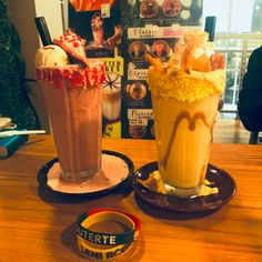 Duterte Red Velvet shake and VP Leni Mango Banana shake at Earthquake Cafe in Robinson's Naga in Naga City. City, Shake, Red Velvet, Mango, Banana, Board, Manga, Smoothie, Cities
