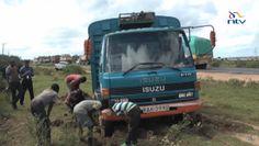 Kenya, Africa, Nairobi, Mombasa, traffic jam, traffic, gridlock, cars, trucks, Kenyan economy, Kenya roads, road repairs