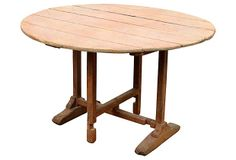 Antique Tilt-Top Wine-Tasting Table on OneKingsLane.com