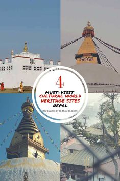 Cultural World Heritage Sites in Nepal - Do you love exploring UNESCO World Heritage Sites? http://myownwaytotravel.com/unesco-cultural-world-heritage-sites-in-nepal/ #myownwaytotravel #worldheritagesites #nepal #unescoworldheritage
