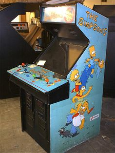 $25. #The Simpsons arcade game by Konami