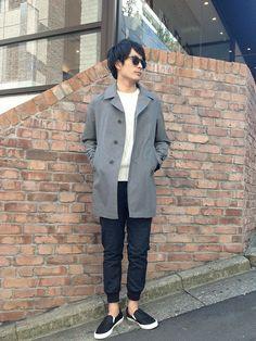 SHIPS 渋谷店 | 大竹さんのスニーカー「SHIPS JET BLUE SHIPS JET BLUE(シップス ジェットブルー): MADE in ITALY スリッポン」を使ったコーディネート