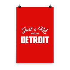 Just a Kid from Detroit Poster