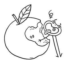 Coloriage Pomme Et Oignon Dessin Anime.Les 38 Meilleures Images De Coloriage En 2017