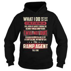 Ramp Agent Job Title T-Shirt