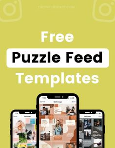 An Instagram Puzzle Feed is one of our favorite Instagram feed layouts. It looks complicated to create, but it's actually super simple. And to make it even simpler, we created 6 beautiful Instagram Puzzle Feed templates for you! #instagramtips #instagramstrategy #instagrammarketing #socialmedia #socialmediatips Instagram Feed Layout, Instagram Bio, Instagram Marketing Tips, Gain Followers, Business Look, Best Apps, Photography Tutorials, Social Media Tips, Photo Editing