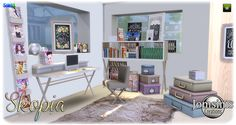 jomsimscreations blog: New Skopia office sims 4. click image to download zone study on http://www.jomsimscreations.fr WEBSITE