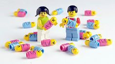 For the LEGO-obsessed house­hold–minifig babies!
