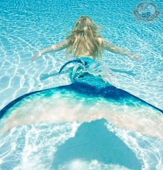 @Yvonne Rocha it's our dream come true....wish they would have had special mermaid swimmy things back when we were kids.  hahahaha