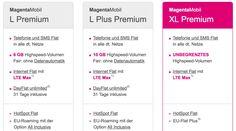 Echte LTE Daten-Full-Flatrate: neuer Telekom MagentaMobil XL Premium Tarif mit jährlichem iPhone Upgrade! - https://apfeleimer.de/2016/09/echte-telekom-lte-daten-full-flatrate-magentamobil-xl-premium-iphone - Hammer: Telekom stellt ersten LTE Flatrate Tarif in Deutschland vor! Mit dem neuen Telekom Tarif MagentaMobil XL Premium stellt die deutsche Telekom den ersten deutschen Rundum-Sorglos Tarif mit LTE Flatrate vor. Soll heißen: eine Internet Flatrate ohne Volumenbegrenzu