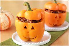 Cutest Halloween Treats Around! (Must-Make Recipes) Recipes: Jack-O'-Lantern Stuffed Peppers & Eyeball Cake Pops!Recipes: Jack-O'-Lantern Stuffed Peppers & Eyeball Cake Pops! Cake Pops, Ww Recipes, Cooking Recipes, Healthy Recipes, Healthy Eats, Dinner Recipes, Pork Recipes, Cooking Tips, Cute Halloween Treats