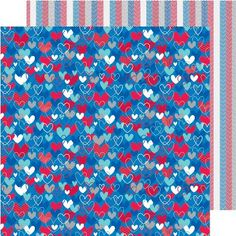 "Patriotic Parade Double-Sided Cardstock 12""X12""-Land That I Love - ValuCrafts.com"