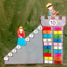Bilderesultat for princesa besucona Preschool Education, Kindergarten Math, Teaching Math, Preschool Activities, Math Games, Learning Activities, 1st Grade Math, Math For Kids, Math Lessons