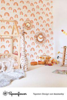 Tapete Rosa Regenbogen Kinderzimmer Senf Kinder Blassrosa Aprikose Schlafzimmer Decor Home Decor Home