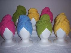 Towel Head Wrap Spa Wraps Your choice of by SewingAndEmbroidery2, $6.00