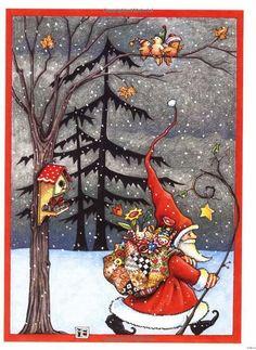 Pinzellades al món: Pare Noel: il·lustracions de Mary Engelbreit / Papa Noel: ilustracions de Mary Engelbreit / Mary Engelbreit Christmas Cards with Santa