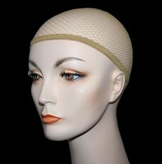 Net Wig Cap Liner nylon standard costume glamour theatrical nude makeup hair  #RubiesCostumes