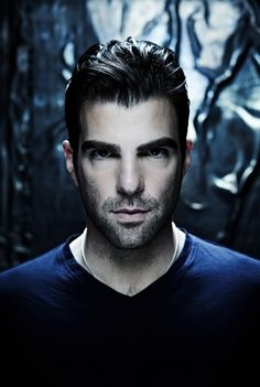 There is something so hypnotic about Zachary Quinto. I love to just look at him.