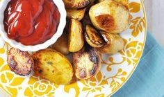Roasted Salt 'n' Vinegar Baby Potatoes with Rosemary & Thyme